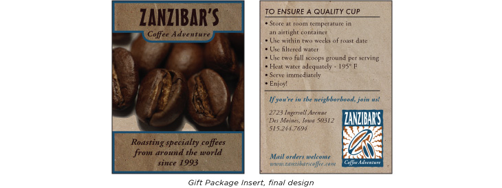 Chris bruns design for Plante zanzibar